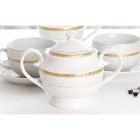Lordene - kaffeservise til 6 personer, 17 deler