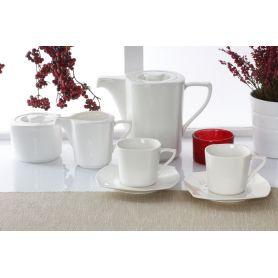 Luna Bianco - kaffeservise til 6 personer, 15 deler
