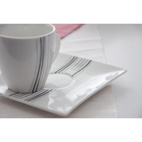 Silver Line - kaffeservise til 6 personer, 21 deler