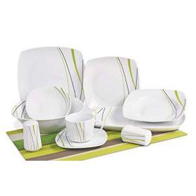 Elih Spring Wave - middag- og kaffeservise til 6 personer, 24 deler