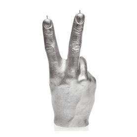 HAND CRS 19,4 cm silver, brennetid 30 timer