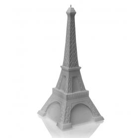 EIFFEL TOWER 33 cm gray, brennetid 70 timer