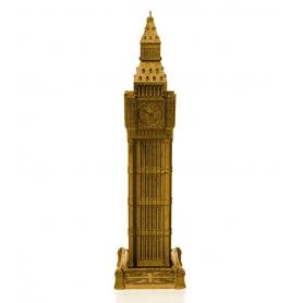 BIG BEN 32,8 cm gold, brennetid 70 timer