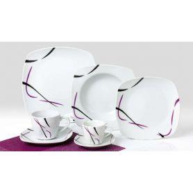 Elih Roxo - middag- og kaffeservise til 6 personer, 30 deler