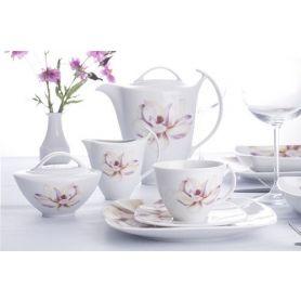 Akcent Paeonia - kaffeservise til 12 personer, 39 deler