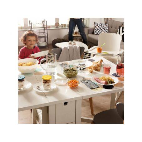Kristoff Hvitt Frédéric - middagsservise til 12 personer, 43 deler