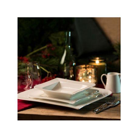Ambition Wave - middagsservise til 6 personer, 18 deler