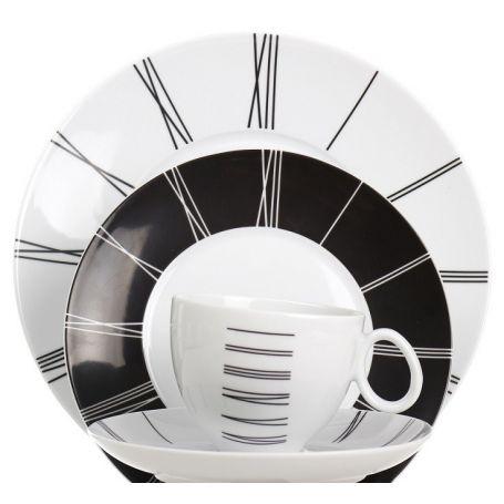 Quebec Ika - kaffeservise til 12 personer, 39 deler