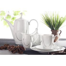 Vega Platina - kaffeservise til 12 personer, 39 deler