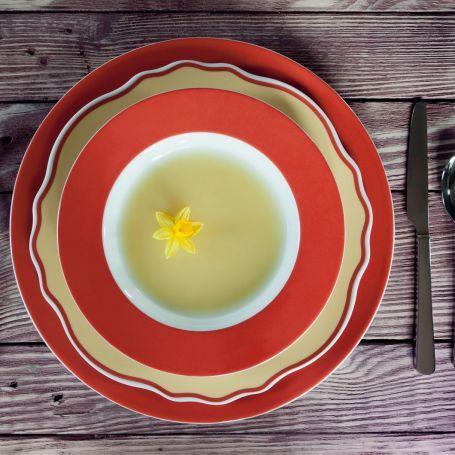 Blossom Rogn - middag- og kaffeservise til 6 personer, 36 deler