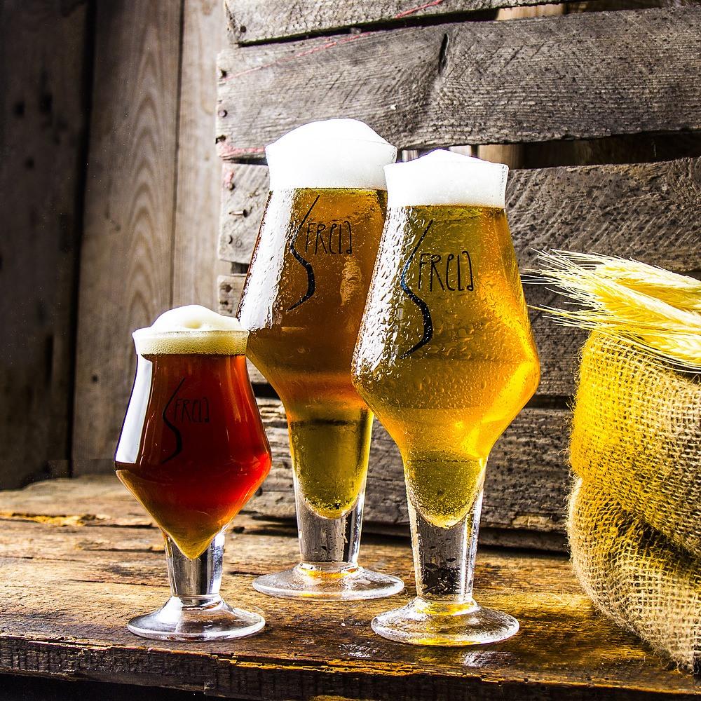 Ulike typer ølglass - Fra øldrikker til ølbrygger.
