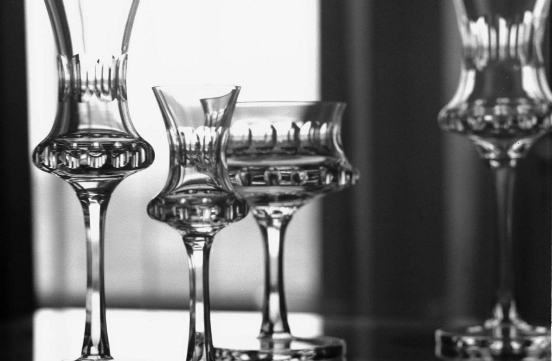 Slik bør du vaske glassene - ekspertens tips.